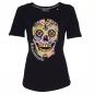 Preview: Roberto Geissini Damen T-SHIRT SKULL SPRING